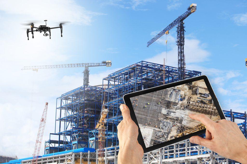 drone1 1024x683 - Construção Civil: 5 principais tendências para 2019