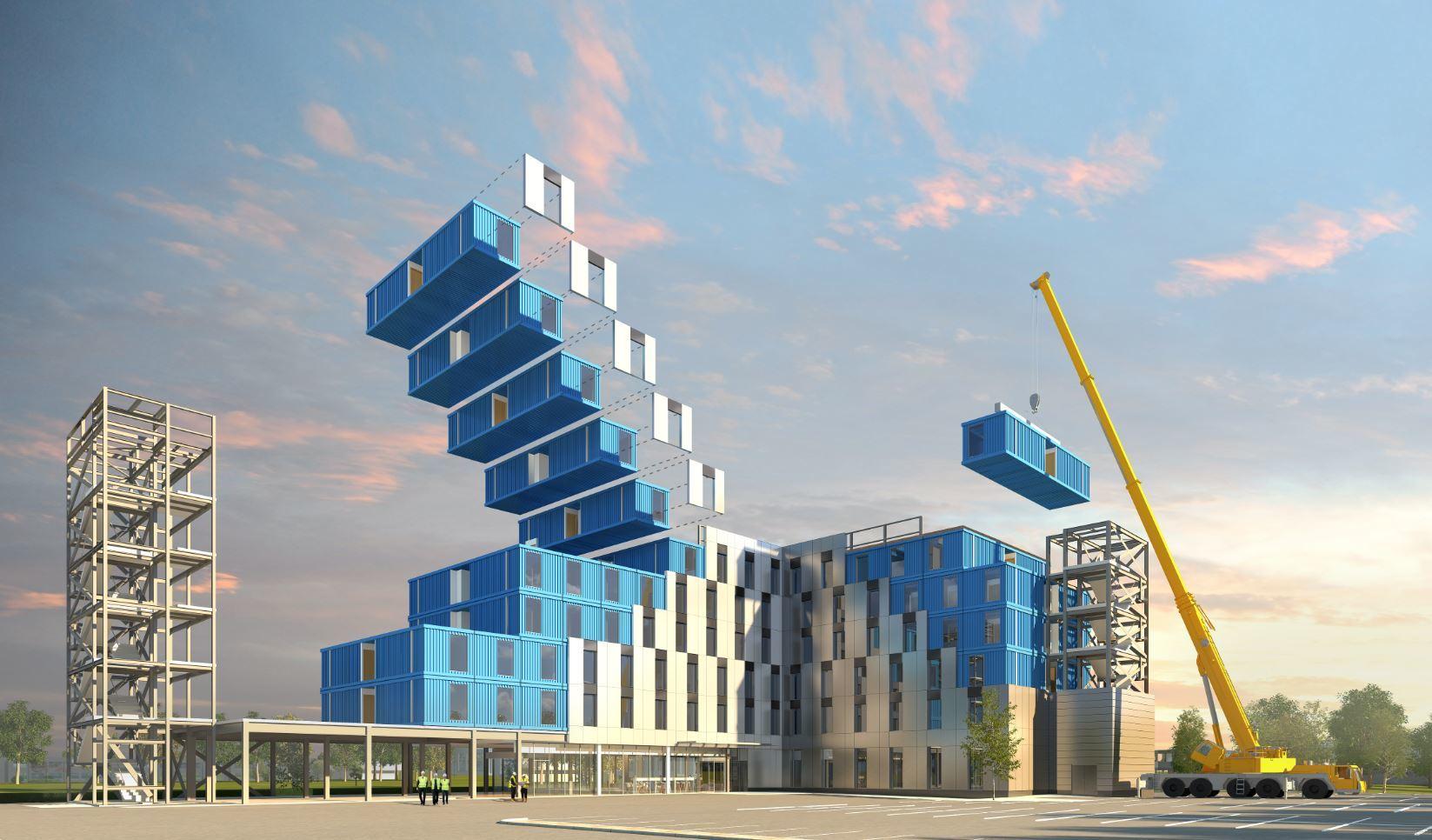 Construção modular: o que é, quais são os seus benefícios e como está sua utilização pelo mundo?