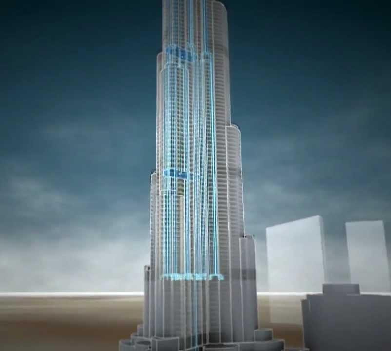 agua burj - Burj Khalifa: conheça os desafios construtivos do maior edifício do mundo