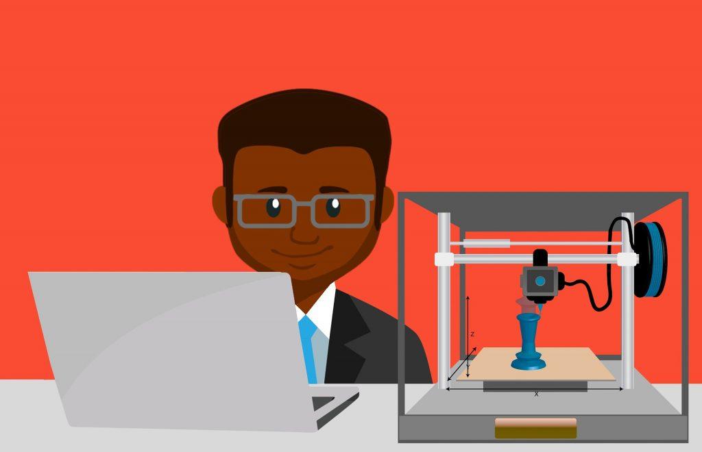 printer 4118430 1920 1024x660 - Impressão 3D: como essa tecnologia se aplica na construção civil?